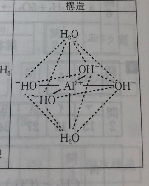 化学 この構造式の錯イオンは何ですか?