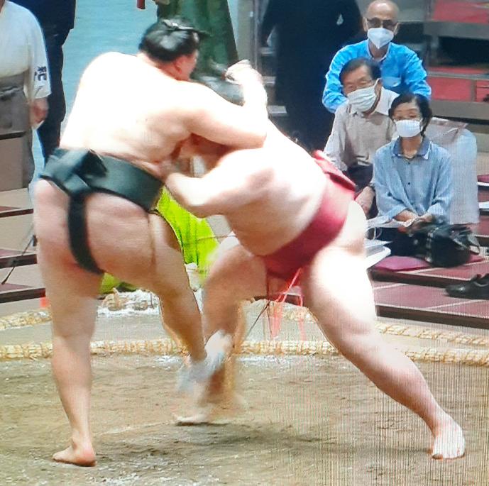 もう、呼び込んだり叩いたり蹴返したり、メチャクチャで相撲になっていませんか。