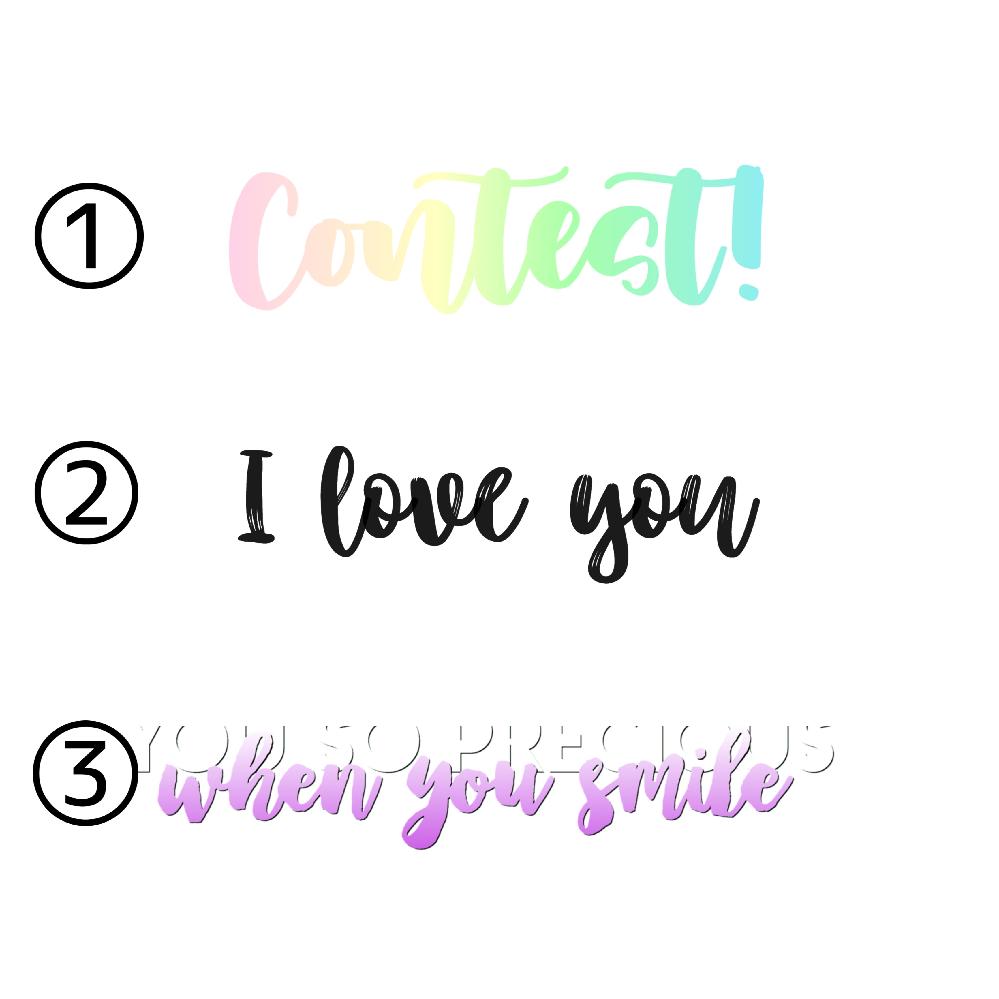 添付画像(3種類)のフォント名ご存知の方が おりましたら、教えて下さい(´・_・`) わかる方のみご回答下さい。