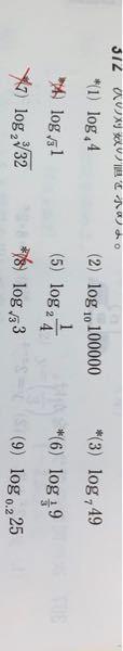 数学の質問です!(8)と(9)教えて欲しいです