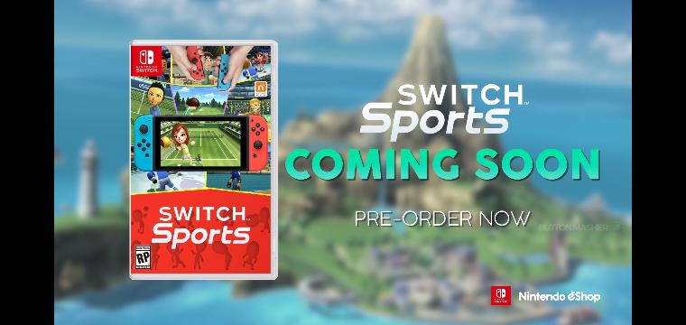 Wiiスポーツ続編作品の、 Switchスポーツ 皆さんやる?