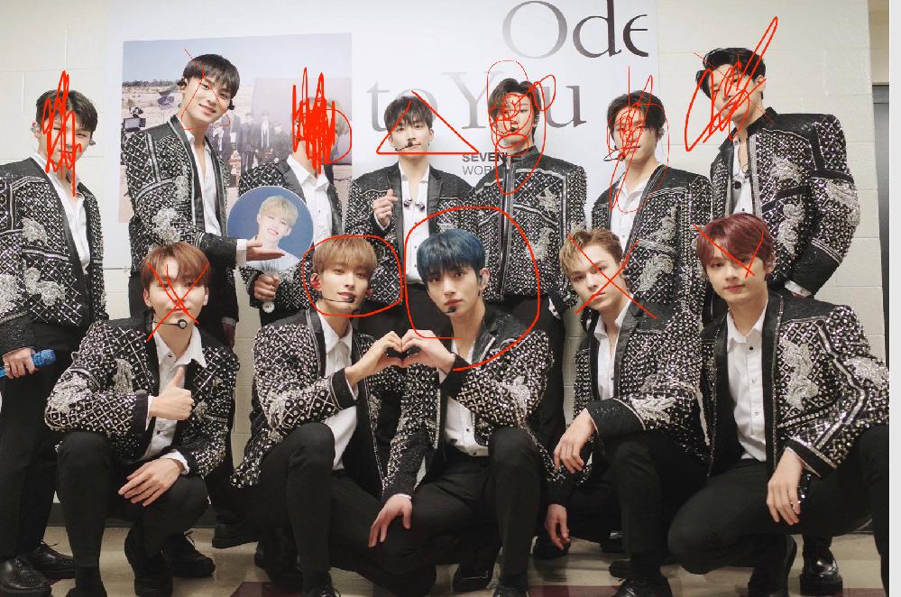 韓国アイドルって雰囲気イケメンが多いですよね。 よく見てみればそうでもないってのが多いよなww セブンティーン?っていうアイドルでも この写真でいえば センターの2人くらいがパッと見てカッコイイ...