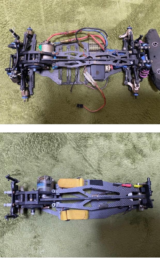 画像の2種類のラジコンの車種がわかる方がいましたら教えてください。