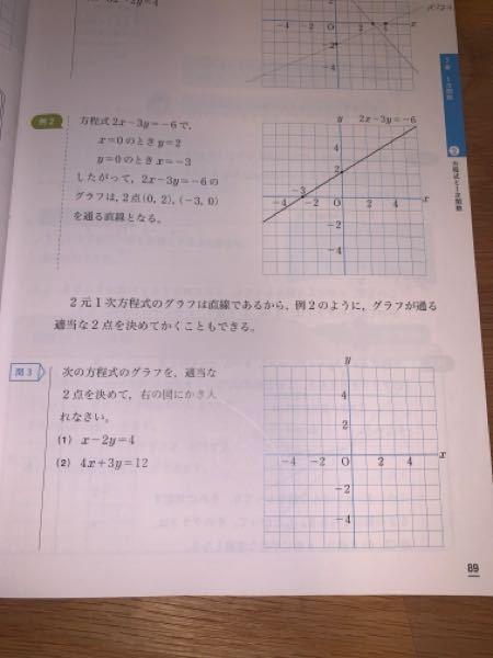この問題の問3の(1).(2)を教えて頂きたいです。