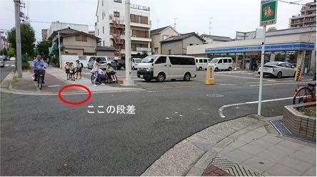 自転車は歩道を走行してはいけない。しかし車道と歩道の段差は自転車が通りやすくするために低くしてある。このダブルスタンダードについて納得いく説明をお願いします。