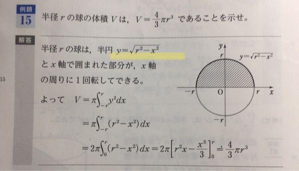 数学Ⅲについてです。黄色線部のXはどこから出てきたんですか?