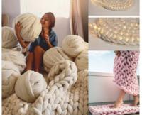 この大きな編み物の正式名はなんですか?