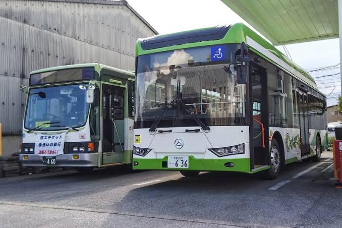 山梨交通について質問です。 去年の9月?頃、伊勢町営業所に中国製のEVバスが来ていましたが導入はされるのでしょうか...?? 耳にすることがなく気になっています...
