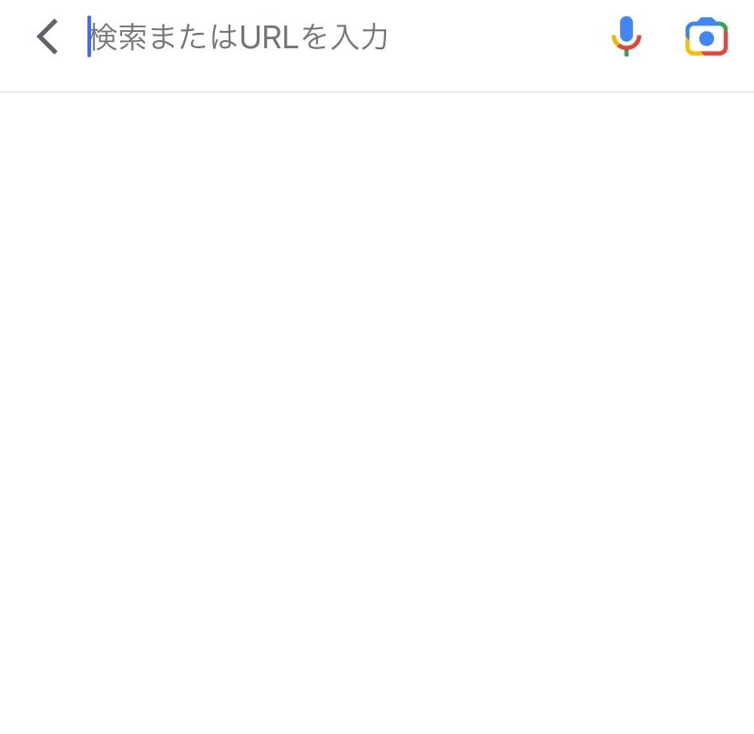Googleのアプリについての質問です。最近に検索した文字などがこの画面に出てくるようにしたいのですが、どうしたらいいですか?