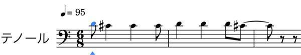 合唱(男声)について質問です 恐らく声変わりは終わったと思うのですが(声変わりが始まって1年以上経ってます)、楽譜の五線外の高音が出ません。 先生にも「声を張れば出る」としか言われません。 もちろん声をどんなに張ってもヘナチョコボイスになって高い声でなんて歌えません。 そこで1オクターブ下げたところで、その曲の最低音が低すぎて出せなくなってしまいます。 それに、今度その歌のテストがあるので、最悪です。 どうすればいいでしょうか。 どんな感じかっていうのを貼っておきます