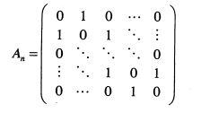 Anの行列式の値の求め方を教えてください.