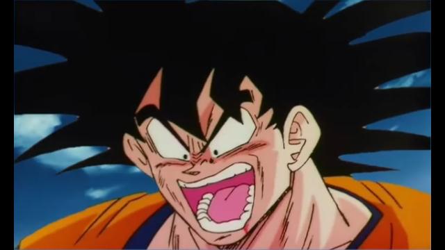 孫悟空がこんな表情をするのは何のドラゴンボール作品なのですか?