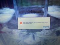 PCでiTunesをアップデートしたら、画像のような警告がでて開けません。どうしたらいいですか?