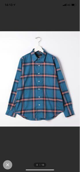 メンズカジュアル このシャツをボタン開けて来る場合、インナーは何色が合うと思いますか??自分は身長175 体重71 アメカジ好きです。 アローズ、シップス、ナノ、ジャーナルなど。 最近流行のビッグシルエットは好きではありません。 全体的にジャストサイズにします。 あと、これに合うボトムスの色、種類も教えて下さい。