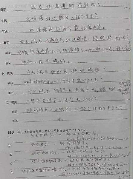 中国語です。文法間違っているところがあったら教えてください。