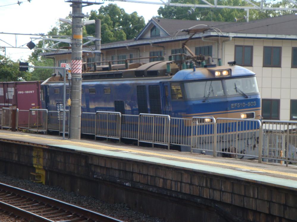 これは北斗星を牽引していた機関車ですか?