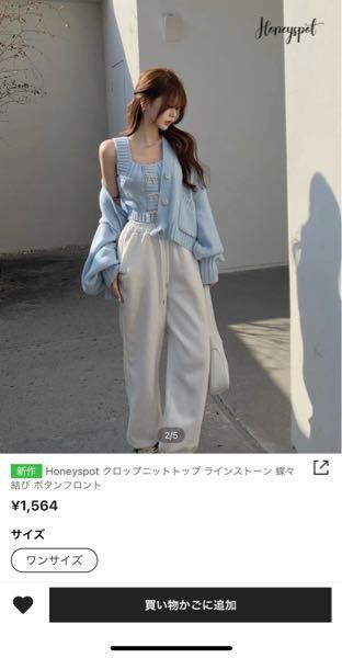 SHEINという通販でこのような洋服を見つけたのですが、カーディガンとセットなのかタンクトップのみなのかどちらだと思いますか? ちなみにレビューは1つも無かったです。