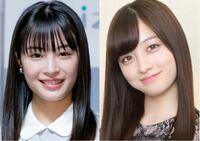 橋本環奈さんと広瀬すずさんが顔がもちろん違うんですけど、目元が違う感じがするんですけど、橋本環奈さんと広瀬すずさんの目元の差ってなんですか?