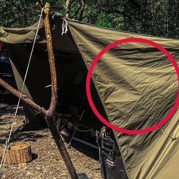 バンドックのテントソロベースex サイドウォールを使わず巻いたまま使用してたらシワだらけになってしまいました。 なにかシワを取る方法ってありますか? また、シワにならない収納方法はありますか?