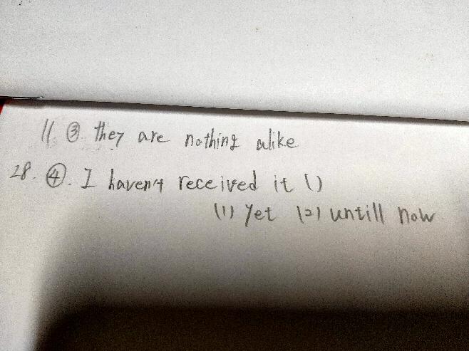 以下の英文について質問です。 3 どのような意味で、nothingはどのような用法でしょうか。 4 穴埋めでどちらが正しいか、間違っている方の理由も知りたいです。 よろしくお願いします。