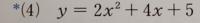 解き方を教えて下さい 共通因数(2)をくくりだして→2(X^2+2X)+5になりそこから二乗の形にし→2(X+1)^2+5になり、一旦因数分解して2{(X^2+2X+1)}+5で余分な1が出ることがわかり、ひとつ前の式から1を引くところ→2(X+1)^2−1+10まではわかりました。ちなみに最後の10は{}を外したときくくりだした2と最後の5をかけ合わせて10にしました