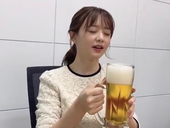 このアナウンサーは酒好きだと思いますか?