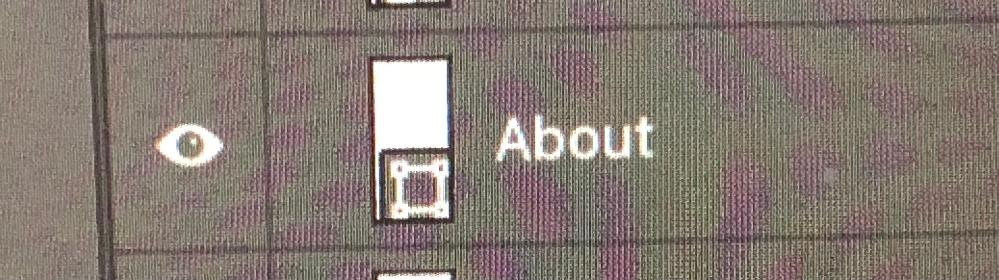 Photoshop初心者です。 こちらの四角の四隅に丸がついたマークはどういった作業をすればつくのでしょうか?
