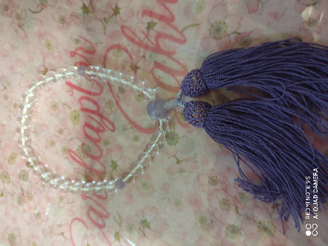 お数珠はお守りになると聞きました。具体的にどんな内容のお守りになるんですか? 画像は私がお寺の体験で作った物です。