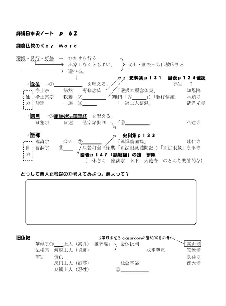 至急です! 日本史得意な方解いていただきたいです。 埋まってればいいので、細かくでなく適当でいいです! お願いします。