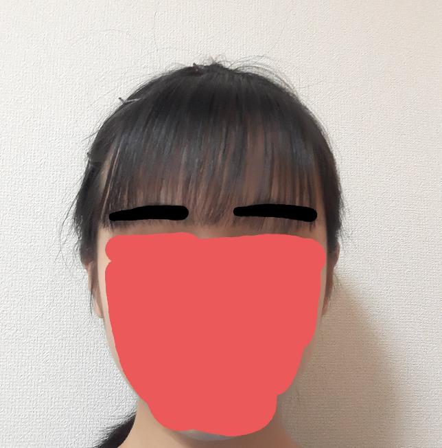 この前髪変ですか?(アホ毛は見逃してください)