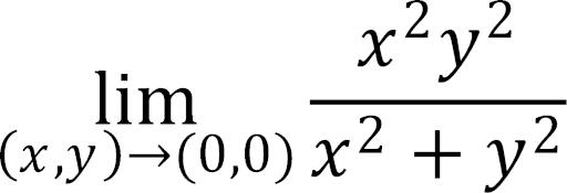 この2変数関数の極限の問題の解き方を教えてください。