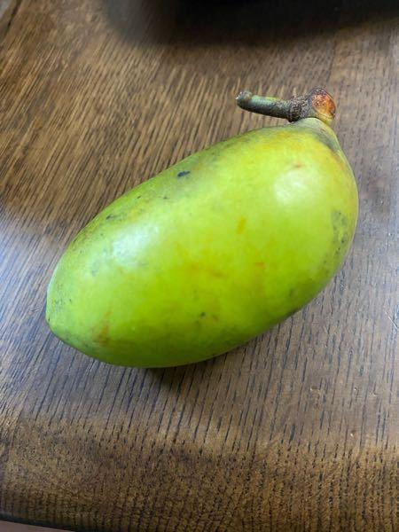 このような果物をいただいたのですが何かわかる方いらっしゃいますか?