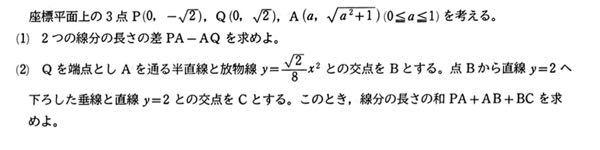 写真の放物線(?)の問題を解きたいです。 解法を教えてください よろしくお願いします