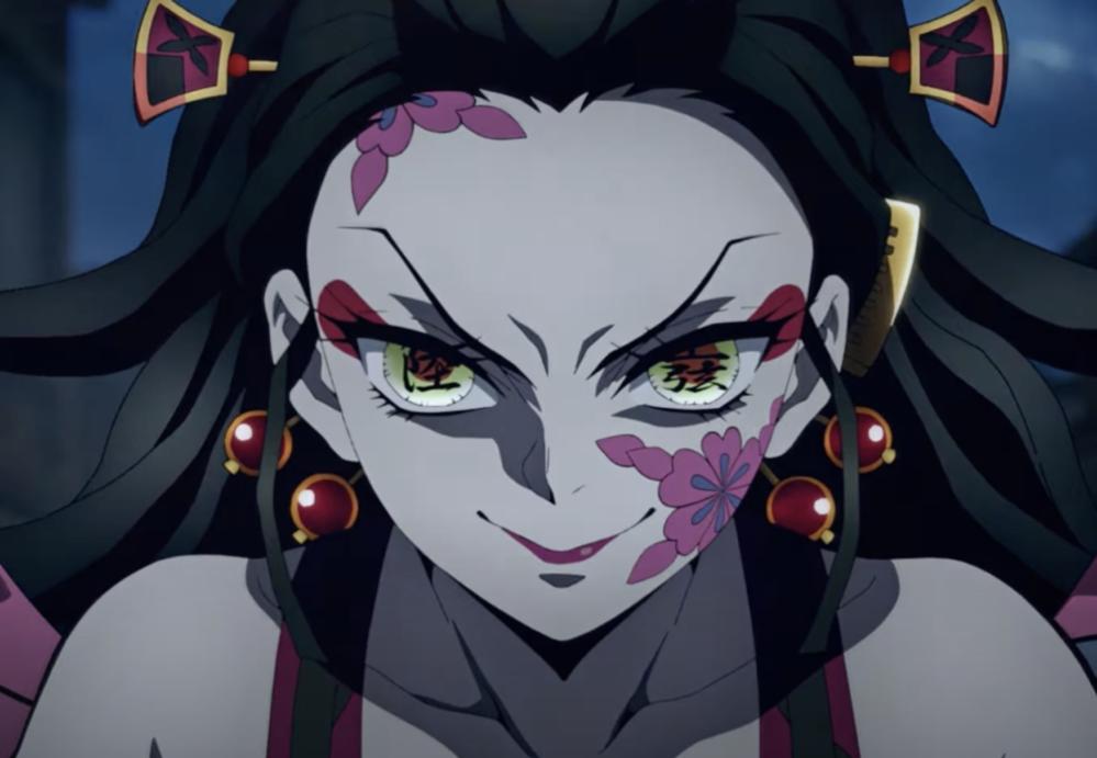 鬼滅の刃、アニメの堕姫、あんまり可愛くないですか? 原作はすごく可愛かったけど