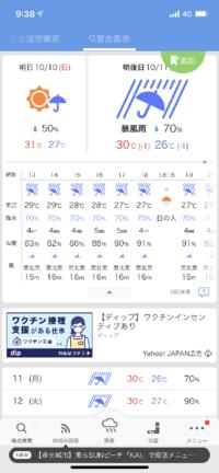 台風時の飛行機の欠航について質問です。 宮古島からの飛行機ですが、11日の15時頃、この予報だとむずかしそうですか?飛行機を変更するかどうか迷ってます。