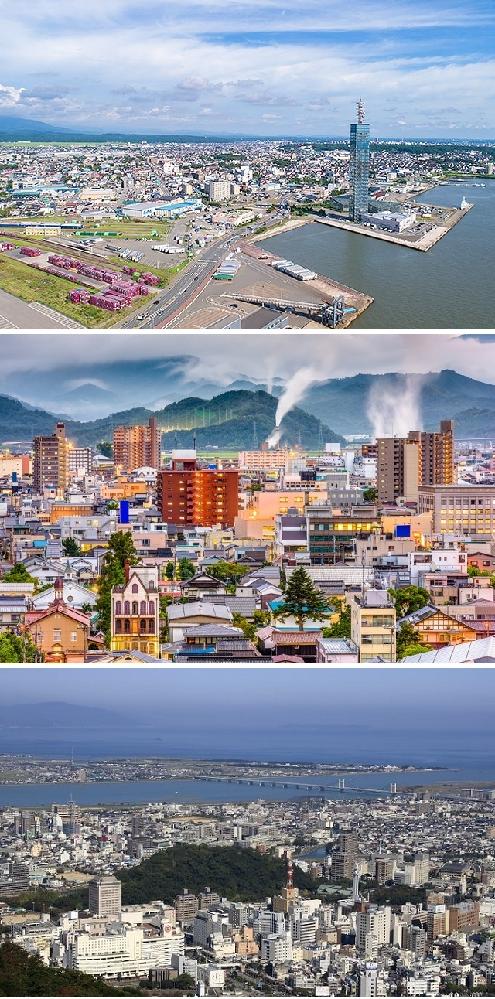 秋田市、鳥取市、徳島市なら、どの街に住みたいですか? 田舎対決 県庁所在地 . 47都道府県の多くでは高齢化と人口減少が進んでしまっているようです、中でも特に過疎化が進行している代表的な県として、東北地方ならば秋田県、中国地方ならば鳥取県、四国地方ならば徳島県があるそうです。 その三つの県ならば県庁所在地のある街として、それぞれ秋田市、鳥取市、徳島市のどれに住みたいですか? 5年前後以上は居住するとして。 まず秋田市ですが秋田空港があり、さらに秋田駅には新幹線も停車します。 観光スポットとしては白神山地のブナの木々の中を散策できますね空気がすがすがしいでしょうし、迫力あるなまはげ祭りにも行きやすいです。 秋田郷土料理としてきりたんぽ鍋が暖めてくれますし、比内地鶏の親子丼もジューシーです。 次に鳥取市ですが鳥取空港があります。 観光スポットとしてはまるで砂漠を思わせる鳥取砂丘が圧巻です、またゲゲゲの鬼太郎の作者として有名な水木しげる記念館にも行けます。 鳥取郷土料理として海産物系であるはカニ汁が美味しいですし、岩ガキの味わいも濃厚で芳醇です。 最後に徳島市ですが徳島空港阿波おどり空港があります。 観光スポットしては日本三大盆踊りの一つに数えられる阿波踊りがユニークですし、大塚国際美術館に足を延ばせば展示美術品が荘厳です。 徳島郷土料理として阿波尾鶏の串焼きが豪快ですし、醤油の香る徳島ラーメンも美味しいです。 ……ここまで読んでいかかでしょう、果たして皆様は秋田市と鳥取市と徳島市、どれに魅力を感じますか? 住んでみたいと思えますかね? また、上記以外のそれぞれの街の魅力や、あるいは逆にデメリットもあればぜひ教えてほしいです。 ぜひ皆様のご意見をお聞かせください。 画像はクリックすれば大きく見れると思います、上側が秋田市で真ん中が鳥取市で下側が徳島市です。