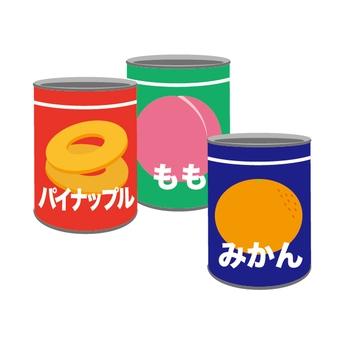 フルーツの缶詰、どれが好きですか?