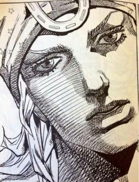 ジョジョの奇妙な冒険 第7部 SBRのジョニィジョースターのこの顔は何巻のどのシーンでしょうか