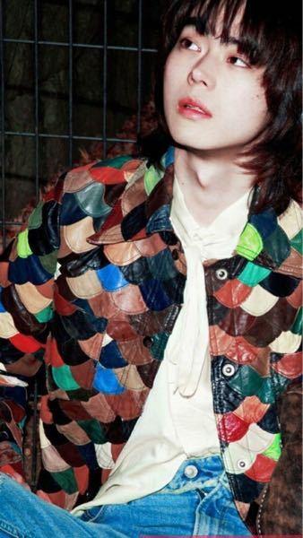 この写真の菅田将暉さんが着用してるアウターのブランドと詳細を教えてください
