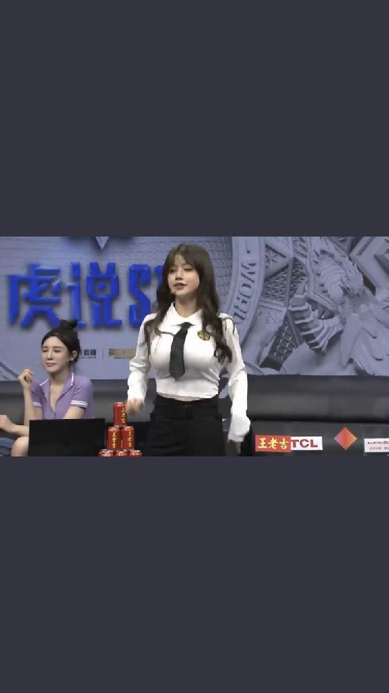 中国のビリビリのLPL中継に出てきたこの女性はどなたでしょうか?よろしくお願いします。