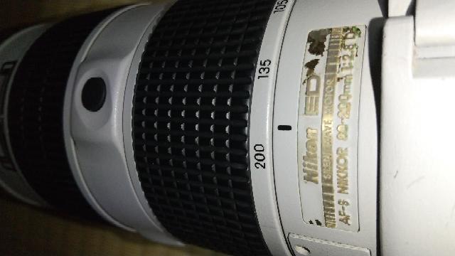 ニコンAF-S 80-200mm f/2.8Dという古いレンズですが、ズームリングのゴムラバーが少し緩いです。 交換したいのですが、部品はありますか?無理な場合の応急措置などご存知でしたら教えてください。