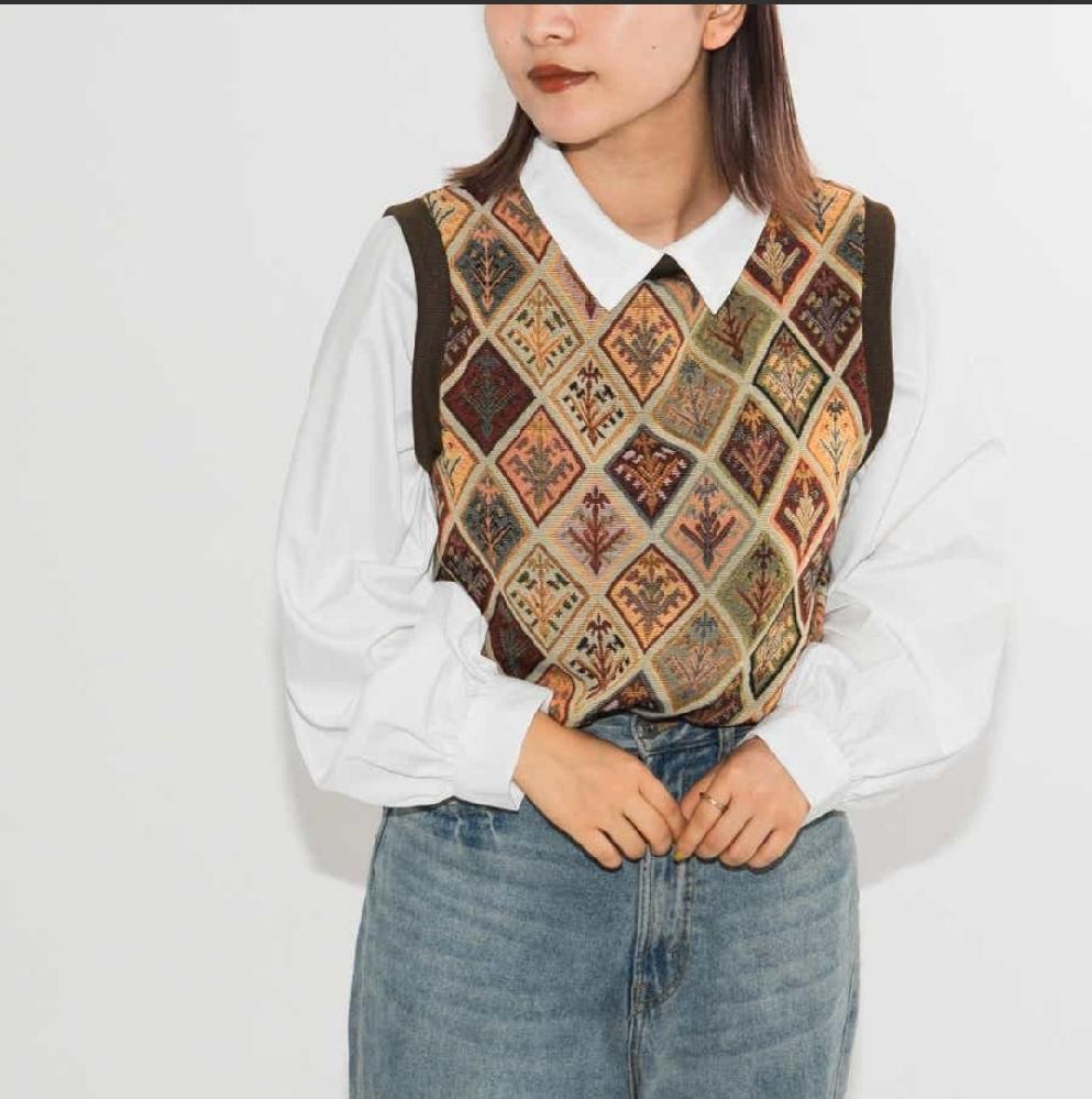 この服の第一印象を教えてください! 10代の方の意見が特に欲しいです。よろしくお願いします!