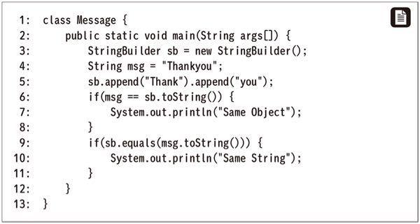 javaのこの問題ですが、9行目がポイントになります。 9行目の解説できる方いらっしゃいますでしょうか。 何卒よろしくおねがいします。