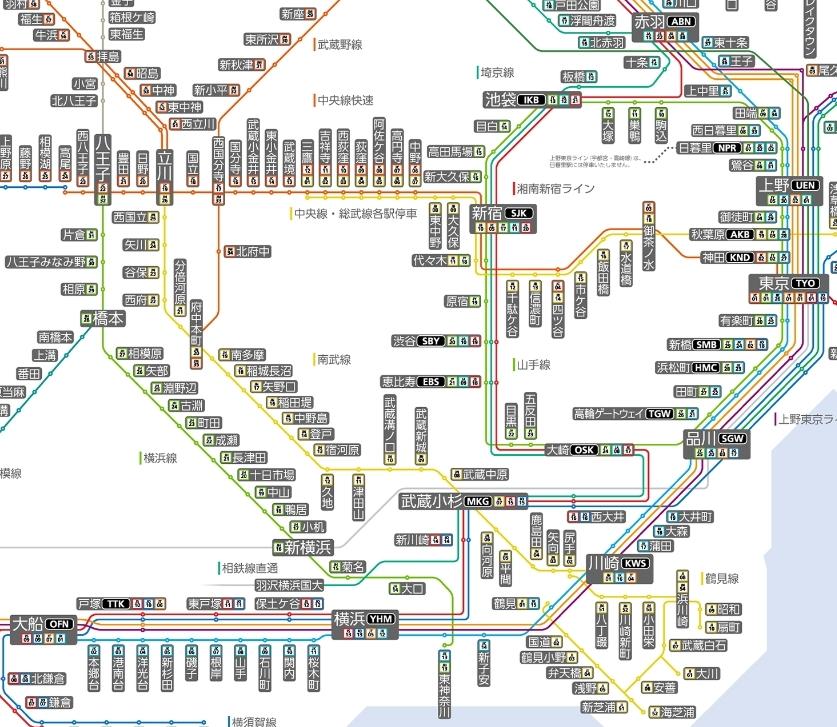 添付している画像の路線図の範囲内(神奈川県西部と東京都)で10時打ちをしてくれる駅を教えて下さい。 また、その中でも取れやすい駅がありましたら、教えて下さるとありがたいです。