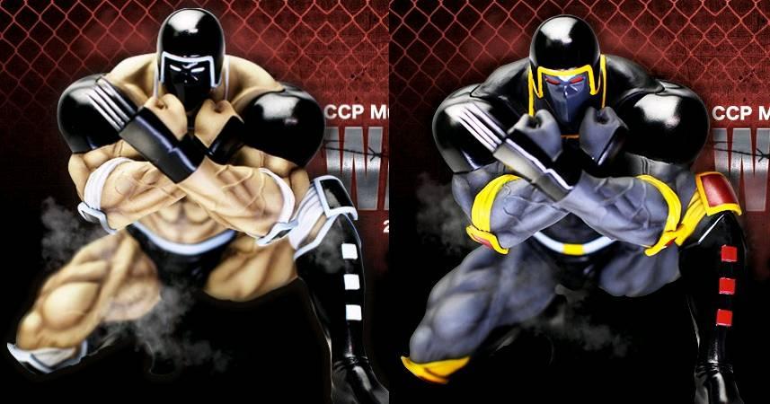キン肉マンファンの方々に質問です! ウォーズマンは、原作カラー(左)とアニメカラー(右) どっちが好きですか?