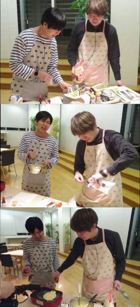神谷さんと小野さんがホットケーキ?を作ってるこの画像はなんの映像か教えてください。