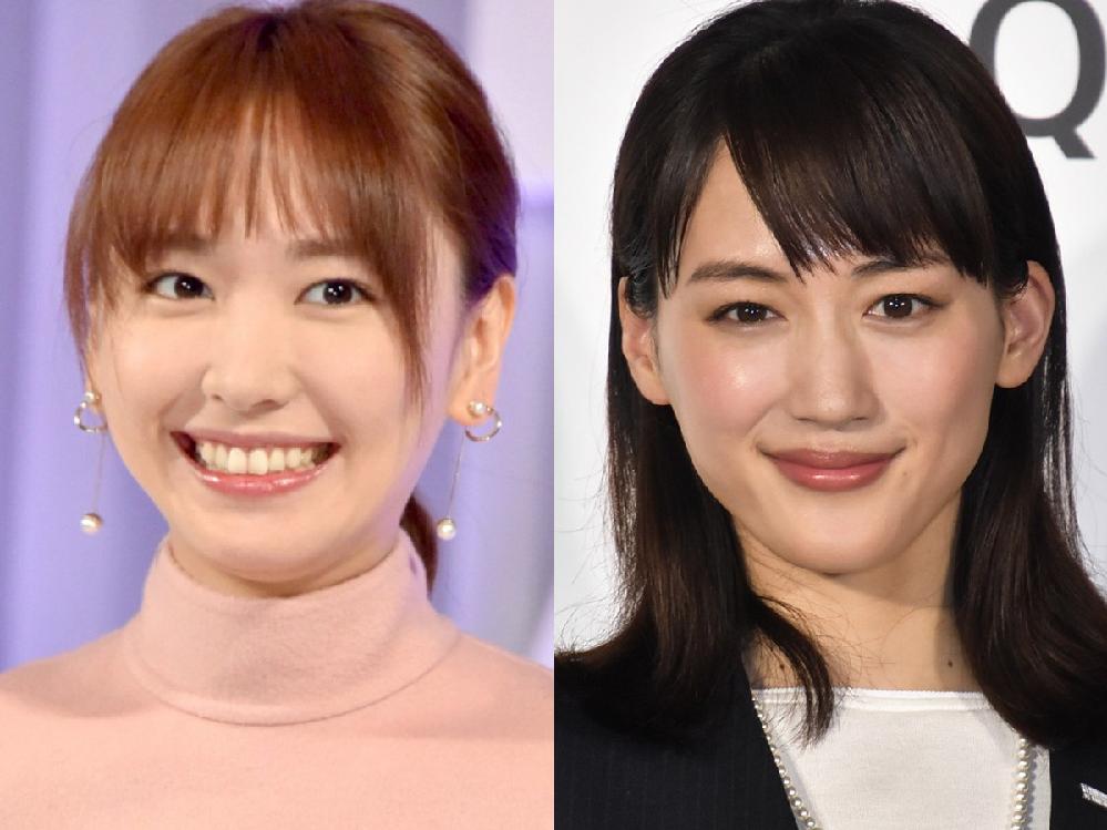 綾瀬はるかさんと新垣結衣さんって、比較的同性にも好かれて 万人受けする美人・可愛い女優さんだと思うのですが この2人のほかに、そういった女優さんは誰だと思いますか?