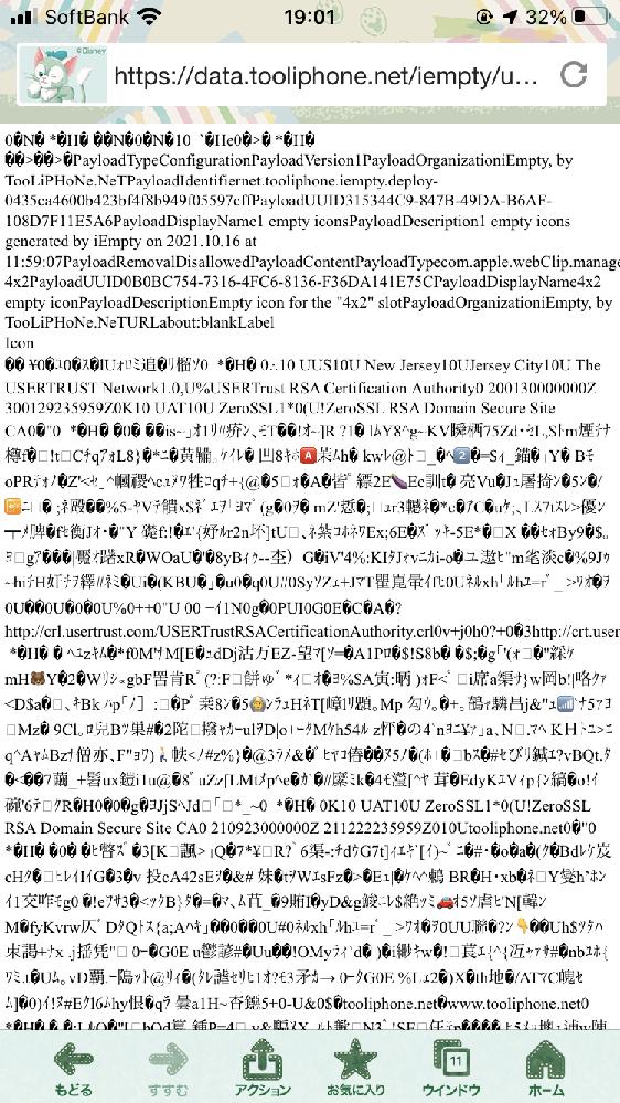 ホームアイコンを透明にしたく、(背景と同じにして透明にみせる) iEmptyというサイトを使いました。 以前は出来ていたのに、新しく作ろうとした所、普通はアイコンの画像? のようなもの(ホーム画...