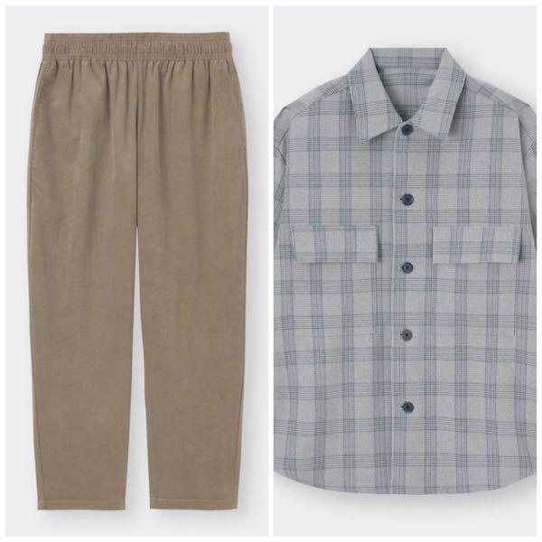 男子高校生です。 このふたつの服は、合わせても大丈夫ですか? 色合いなど、服に関して知識がなく、分かりません。 中には、無地の白Tシャツを着ようと思っています。