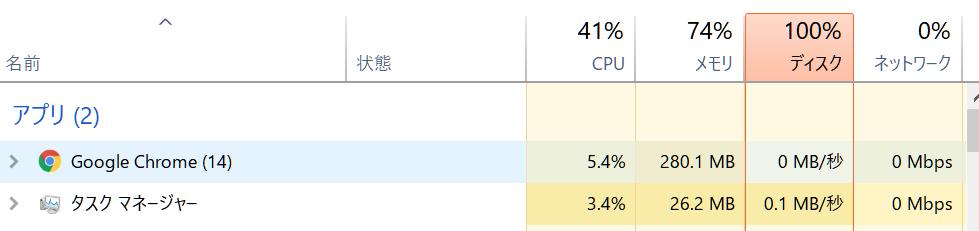 私が今使っているPCは2台あって、そのうち https://dynabook.com/standard-notebook-t-series/t45g-2018-summer-model-15-6-inch-full-hd-screen/luxe-white-pt45gwp-sea.html このパソコンが謎に重いです。 googleをみるだけでメモリが70%になります。なにもしなくてもメモリは60%前後です。CPUは元気そうですが、、、これが普通ですか? また、https://dynabook.com/pc/catalog/dynabook/catapdf/original/pc-866.pdf このPCのほうが起動時間が早くて、なんで新しいモデルのほうが遅いんだよとイラついてしまうのです。どうにか軽くしたいです。 またこれはどちらにもいえるのですが、ときどき何もしなくてもディスク100%になります。これは正常ですか?(systemというやつが4.4mb/秒くらいになっている) PC初心者のため、わかりやすく教えてほしいです。たぶんどちらも低スペックというやつなので一番いいのは買い替えることなんですけど、まだきれいだしもうあと2,3年はこれらを使いたいので、なんとかならないでしょうか?